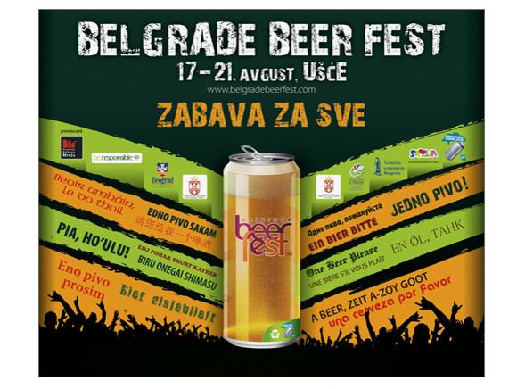 BELGRADO: logo dell'edizione 2011 della Belgrade Beer Fest