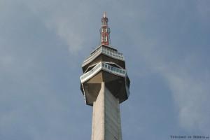 MONTE AVALA: particolare della Torre dell'Avala