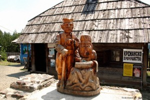 15 - Zlatibor e dintorni - Statua del profeta Mitar Tarabić a Kremna