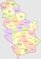Distretti Serbia