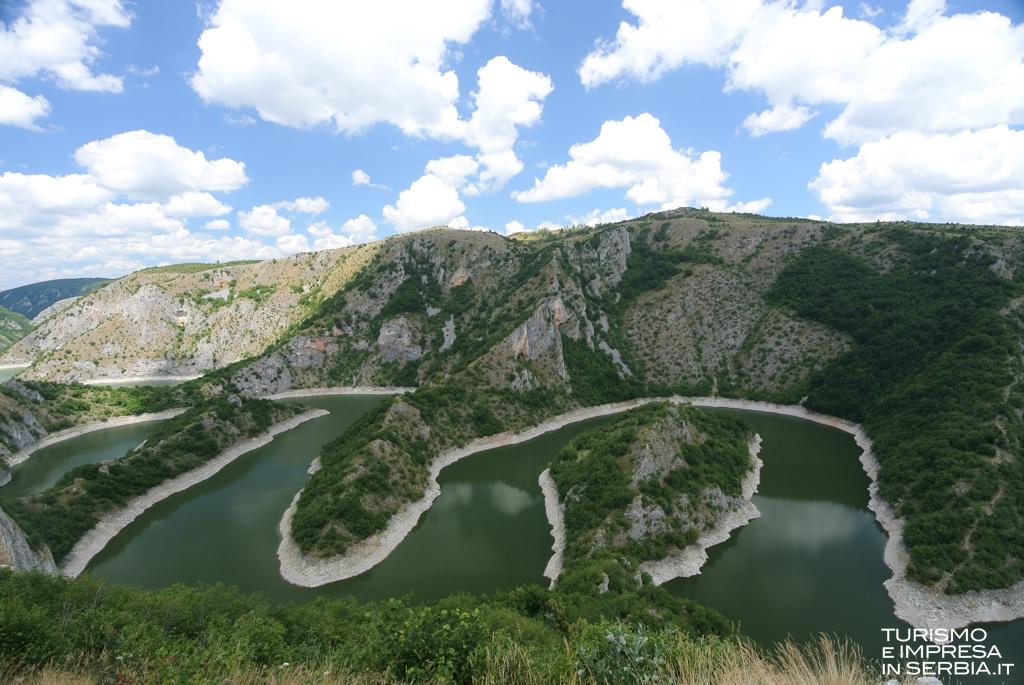 Fiume Uvac - Nova Varoš - Serbia Occidentale