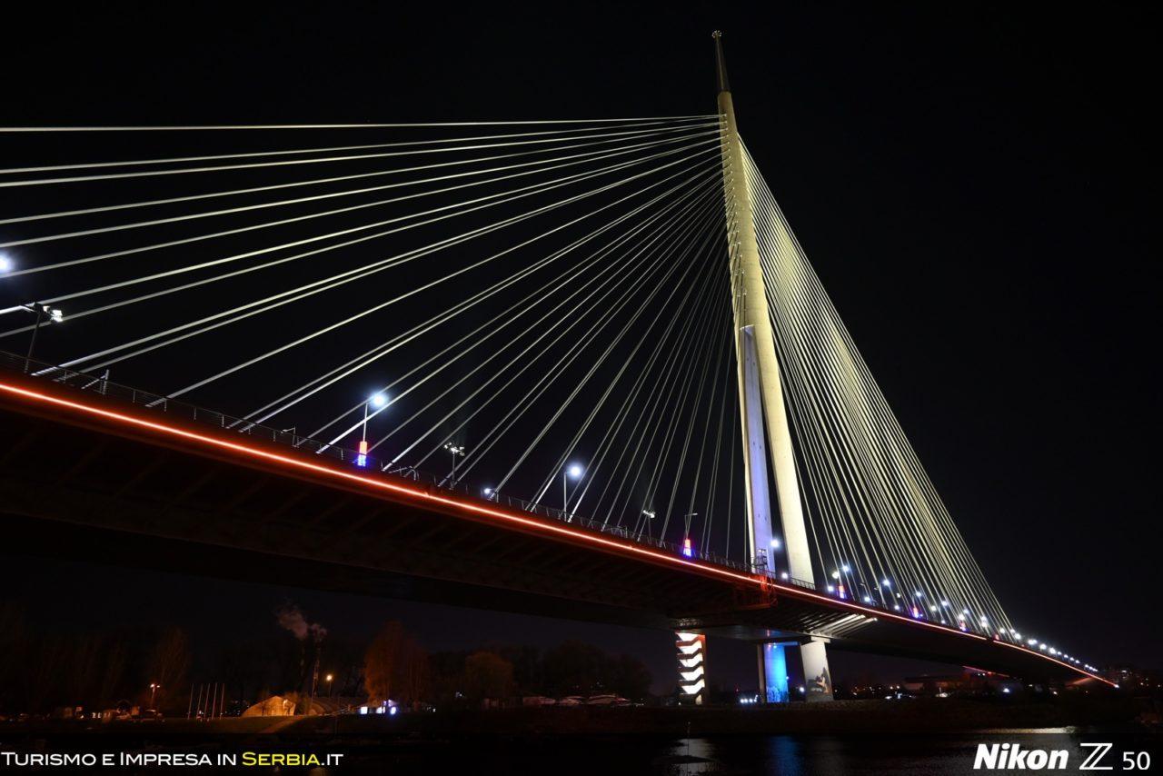 02 - Belgrado, capitale della Serbia - Ponte Ada