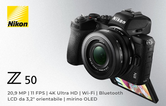 Fotocamera Mirrorless Nikon Z 50